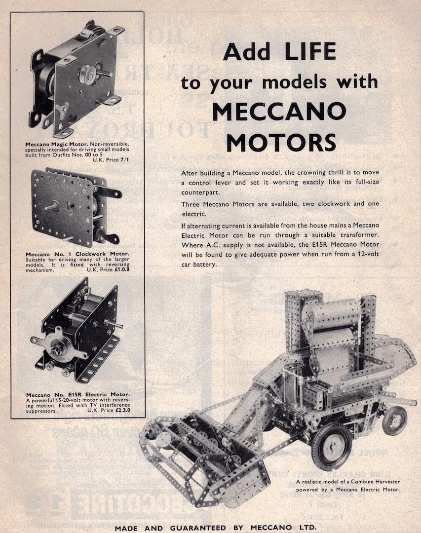 Meccano Motors