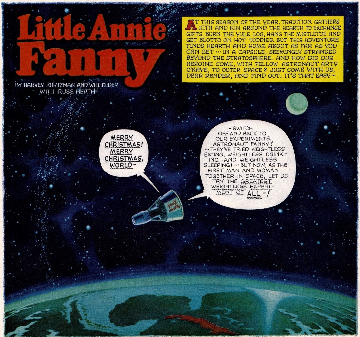 Little Annie Fanny Space 1964 No 01
