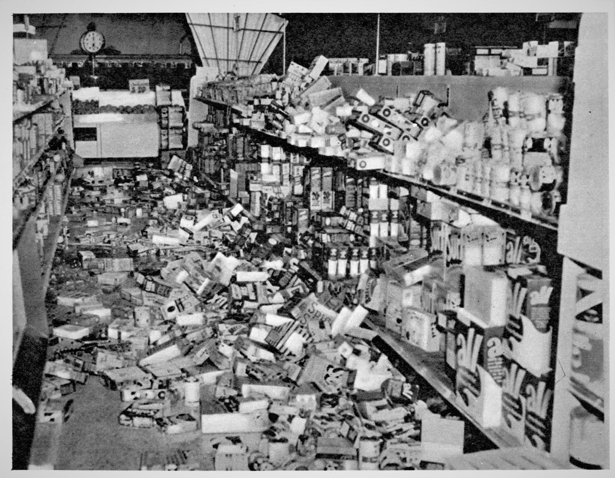 1955 Sept Earthquake in San Jose Ca