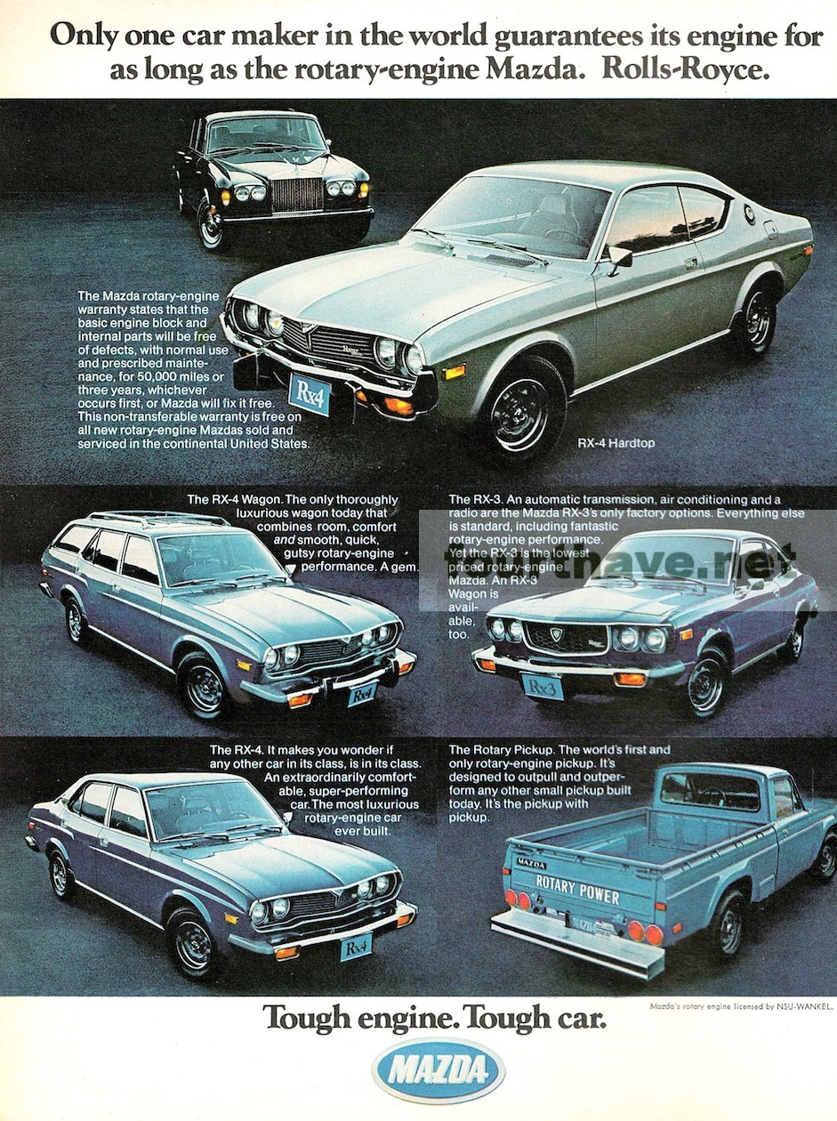 1975 Mazda Rotary