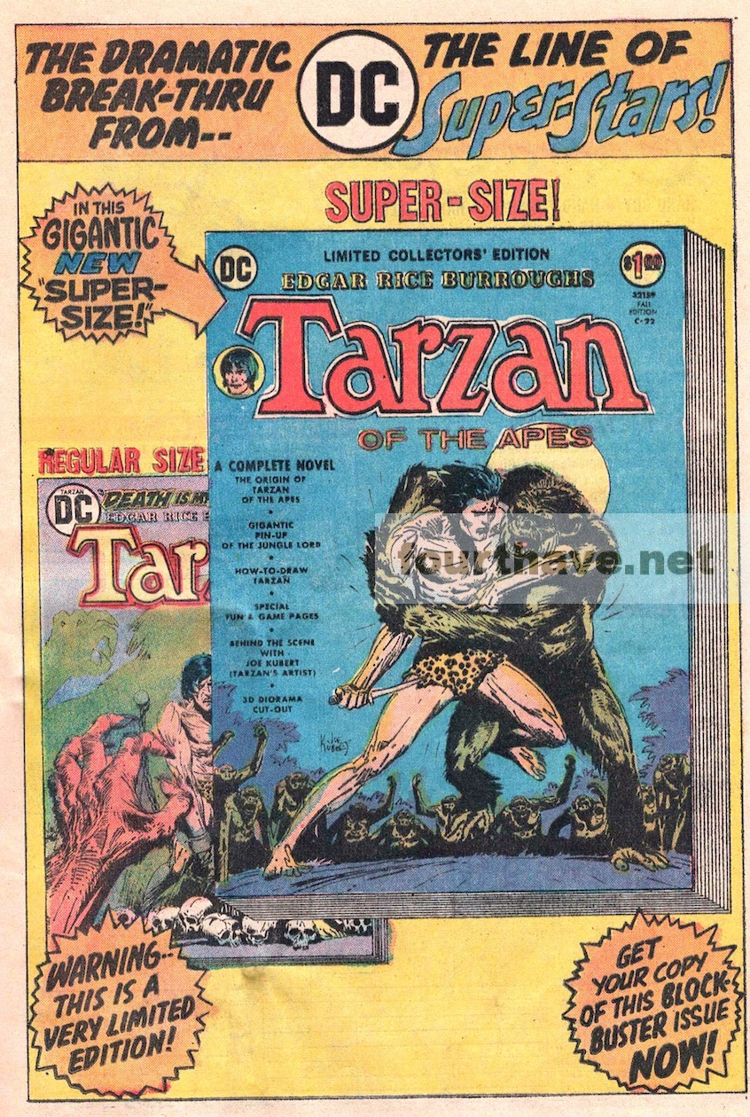 Tarzan Super Size