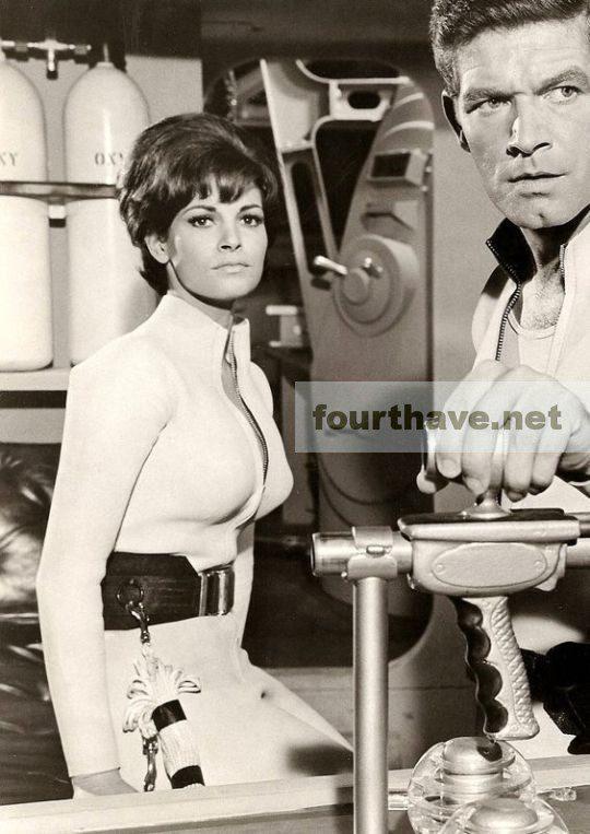 """Raquel Welch in """"Fantastic Voyage"""" (1967)"""