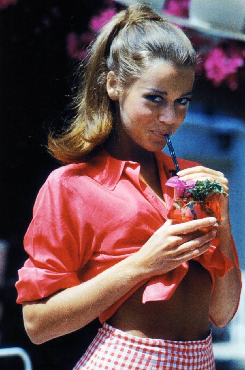 Jane Fonda in Beverly Hills,1961