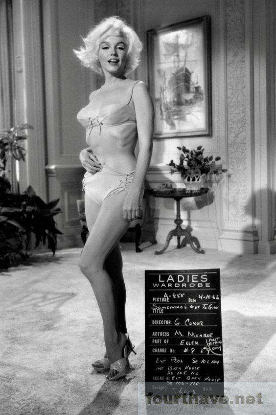 Marilyn Monroe Wardrobe test