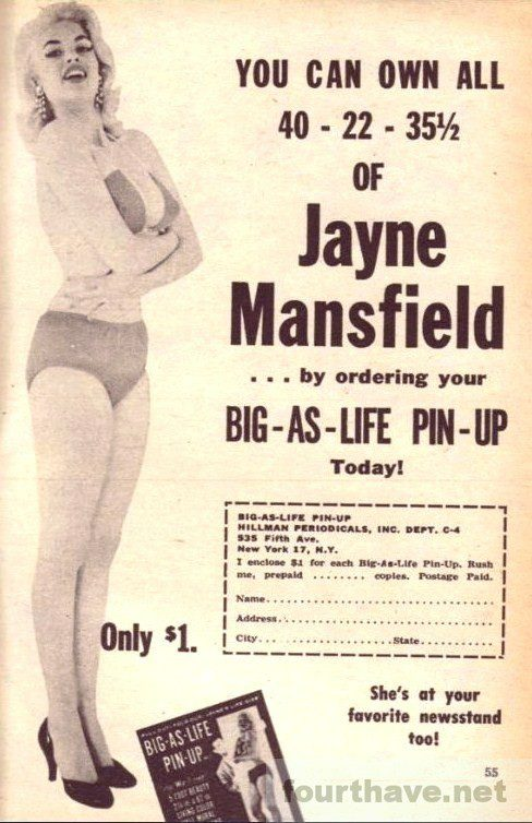 You can own all of Jayne Mansfield