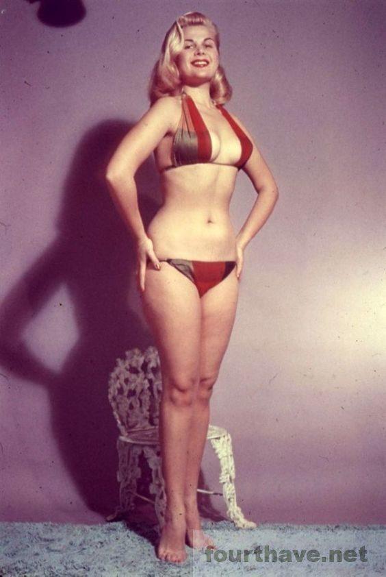 Cleo Moore standing