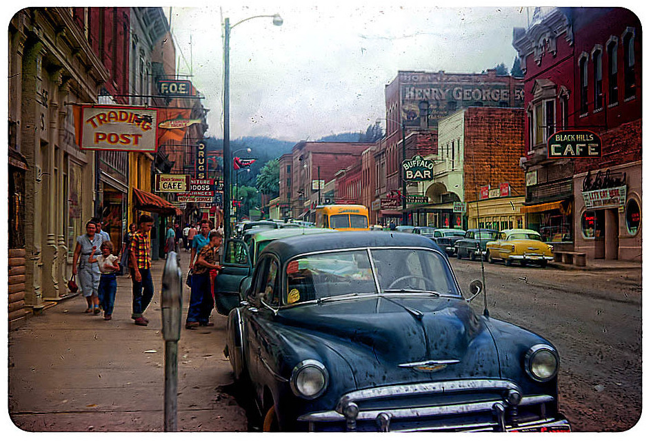Deadwood South Dakota - 1954