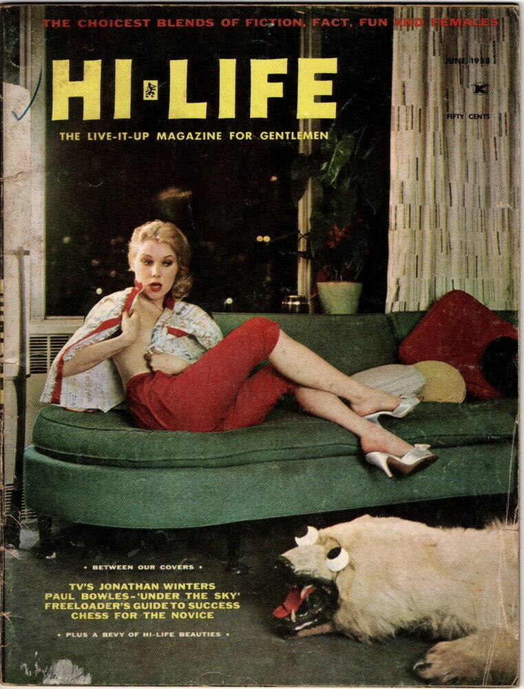 Hi-Life Magazine, June 1958 cover