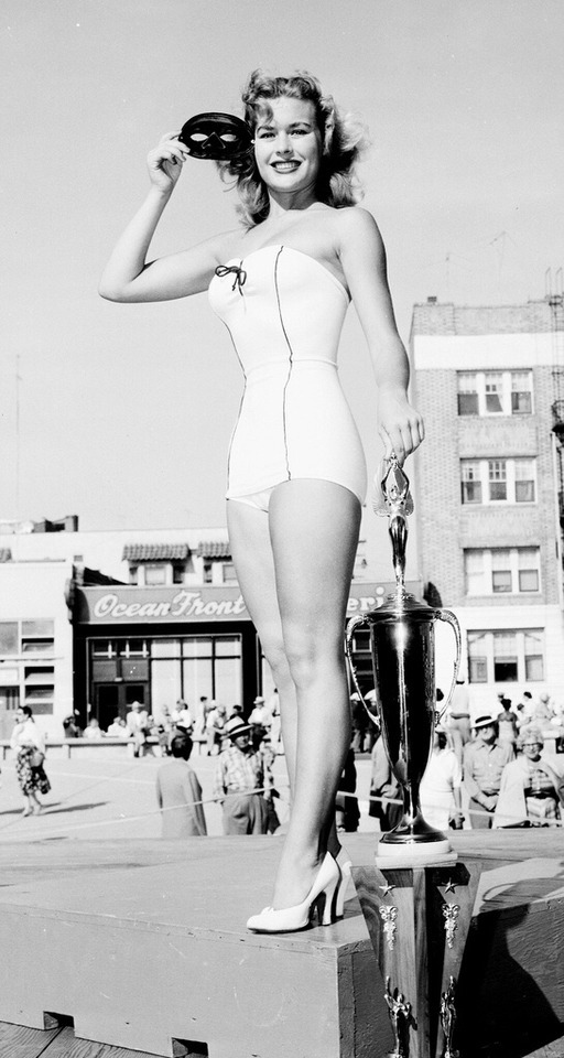 1954 Miss Bay Beach Winner