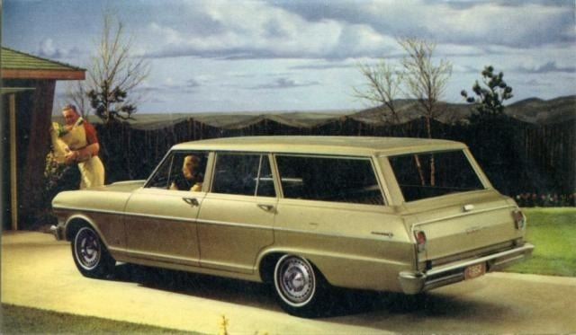 1962 CHEVY II 300 STATION WAGON