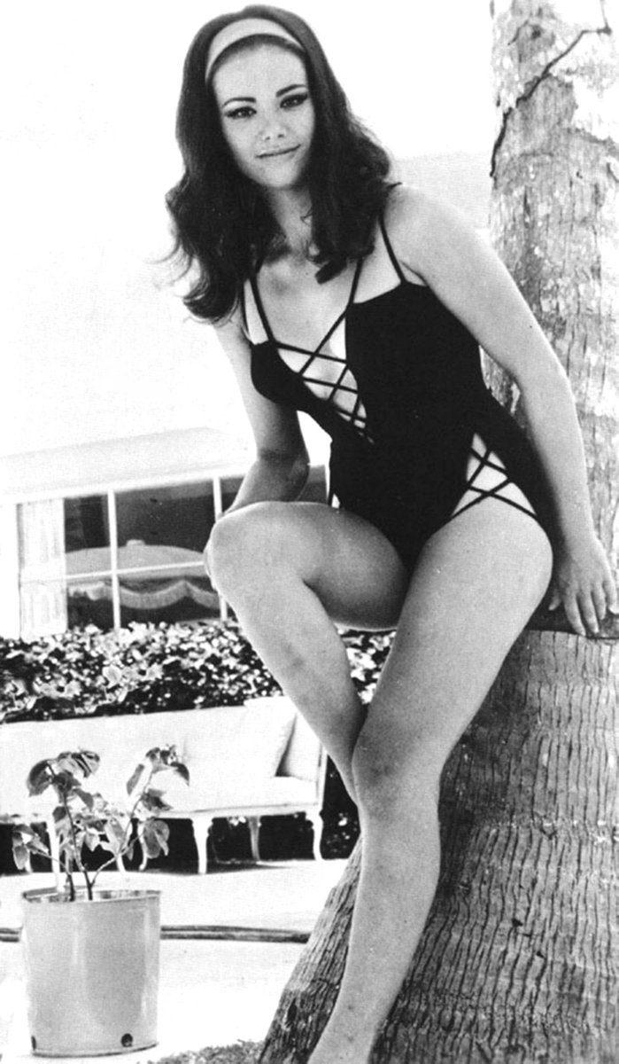 Claudine Auger swim suit
