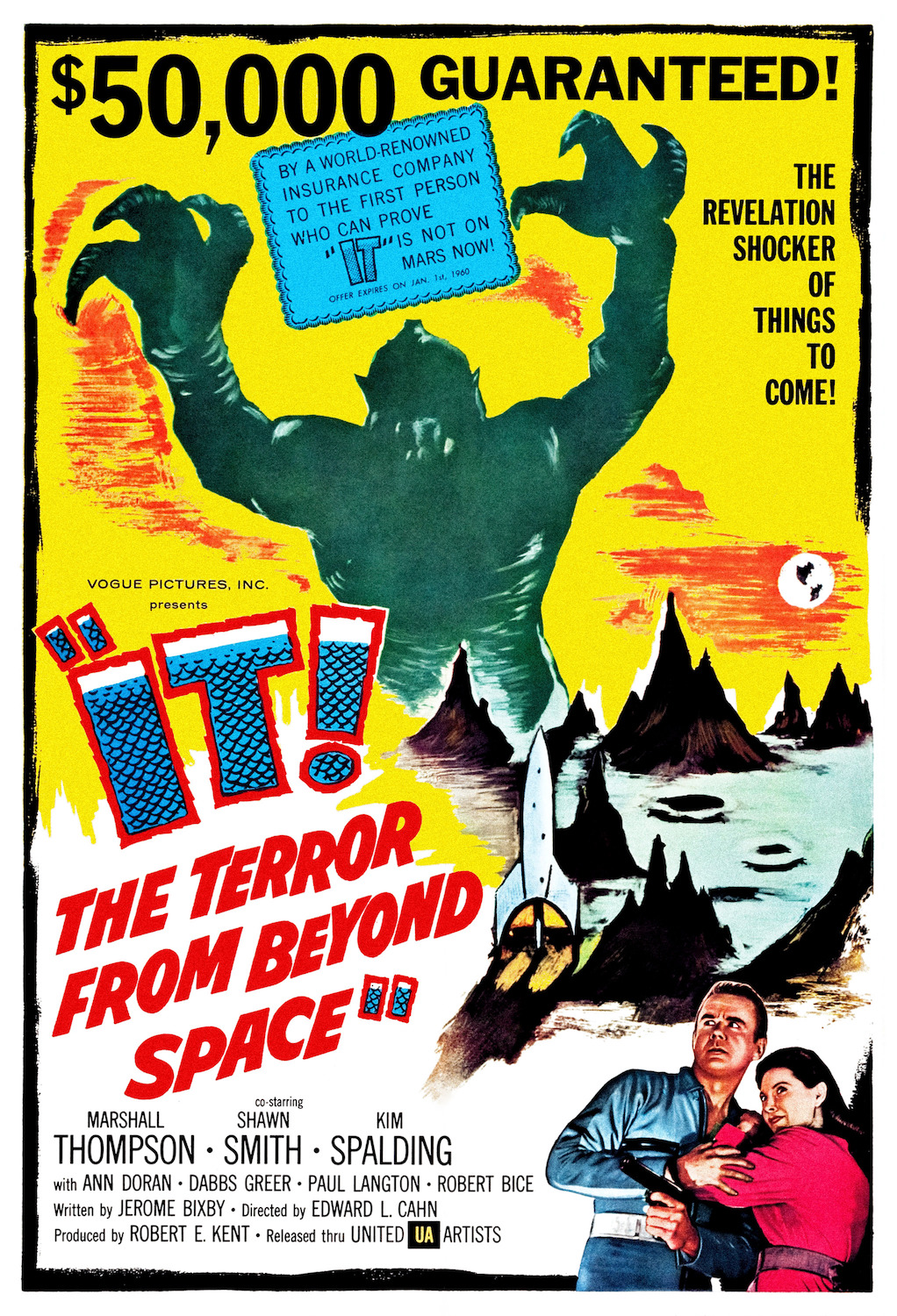 The Terror from Beyond Space