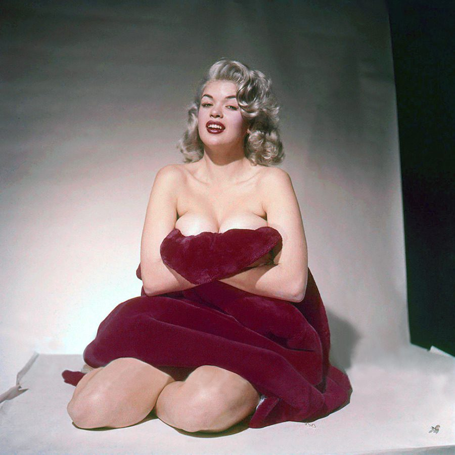Jayne Mansfield : photo by Peter Basch.