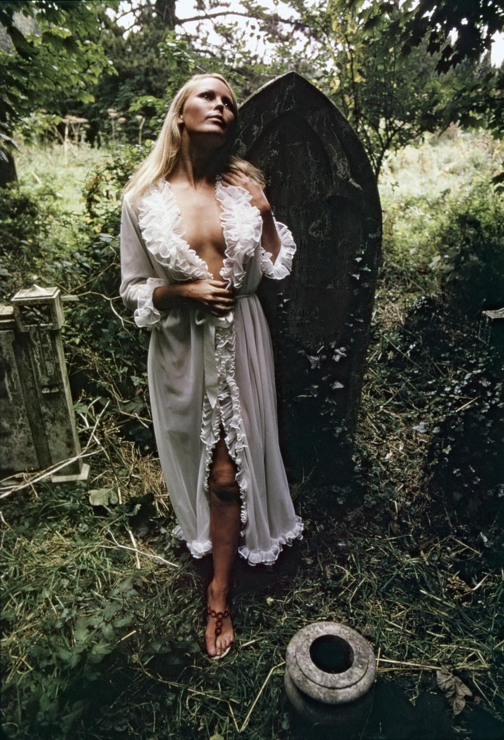 Veronica Carlson- publicity stills to promote Dracula Has Risen from the Grave (1969)