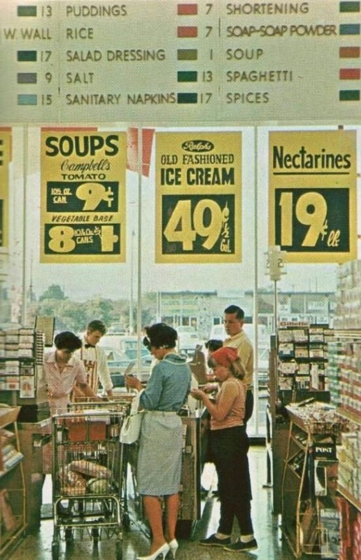 Grocery Shopping 1960s
