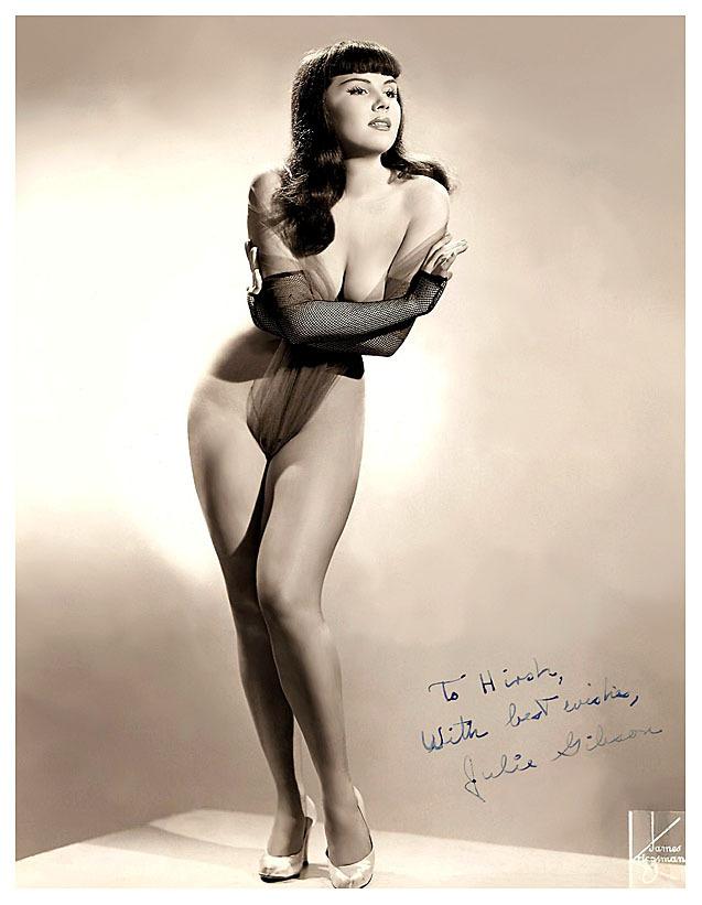 dancer Julie Gibson