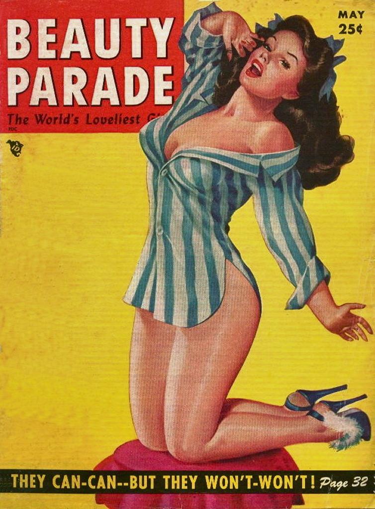 Beauty Parade, May 1954